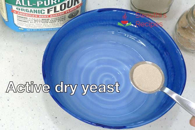 yeast to make homemade pizza