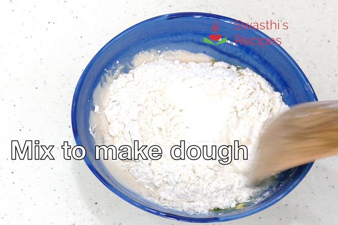 knead pizza dough until elastic