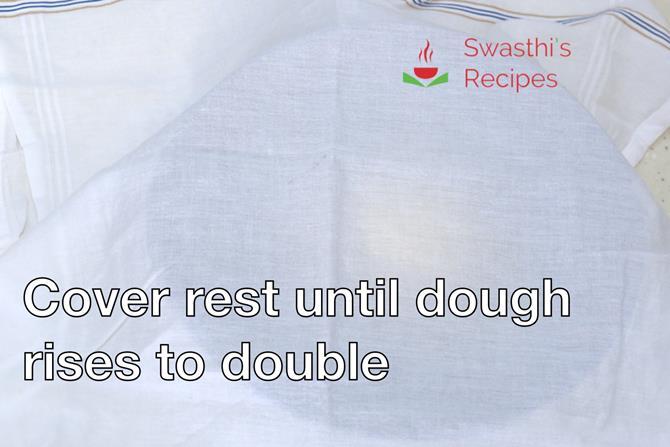 pizza dough rises