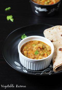 Veg kurma recipe | Mix Vegetable korma recipe  | How to make veg kurma