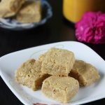7 cups burfi recipe | easy burfi recipe with besan