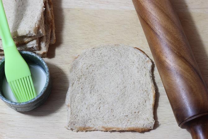 roll bread slices to make bread roll recipe