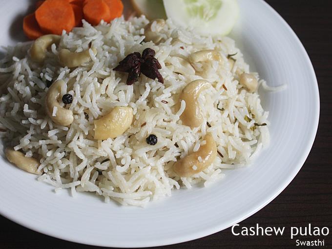 cashew pulao