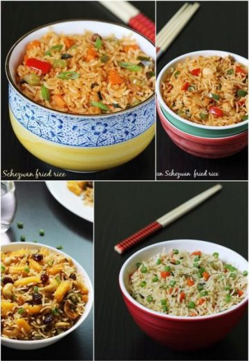 Fried rice recipes | Collection of 17 simple fried rice recipes