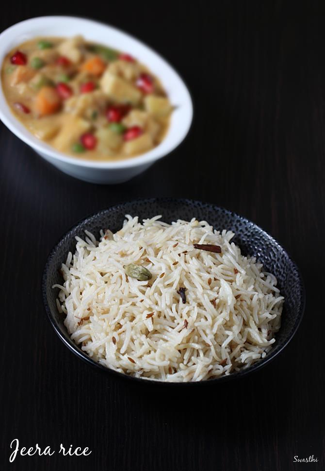 Jeera rice recipe video how to make jeera rice jeera pulao recipe forumfinder Choice Image