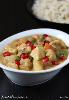 Navratan korma recipe | How to make navratan korma recipe