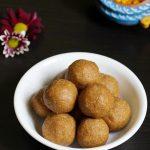 Oats sesame ladoo recipe | Oats peanut laddu | no sugar no ghee