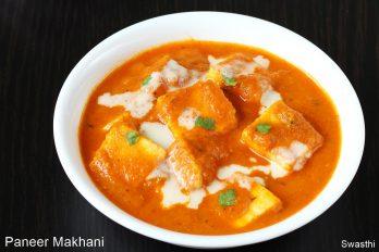 Paneer makhani recipe   Paneer makhanwala (restaurant style recipe)