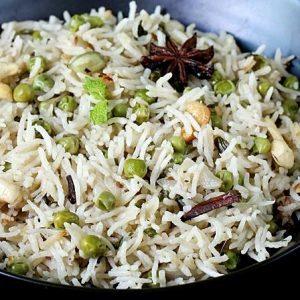 Peas pulao recipe video | How to make matar pulao recipe | Green peas pulav