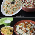 Pulao recipes | Collection of 20 easy pulao recipes