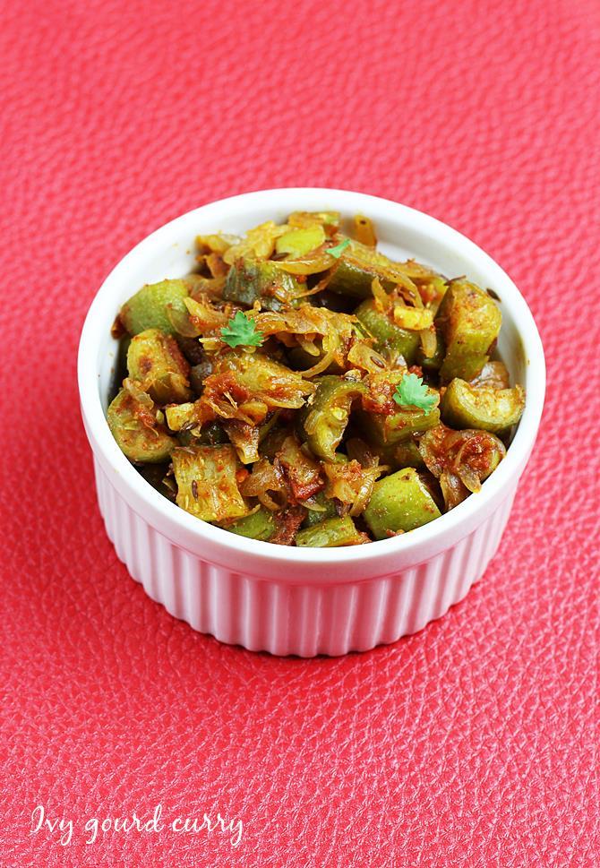 dondakaya curry