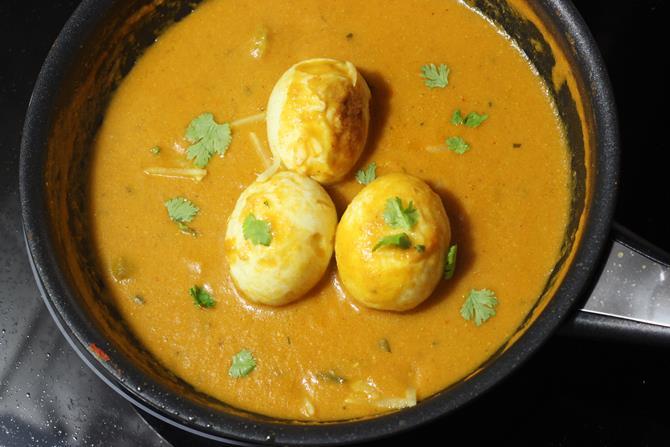 ginger cream for egg makhani