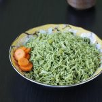 palak rice recipe | palak pulao recipe | spinach rice