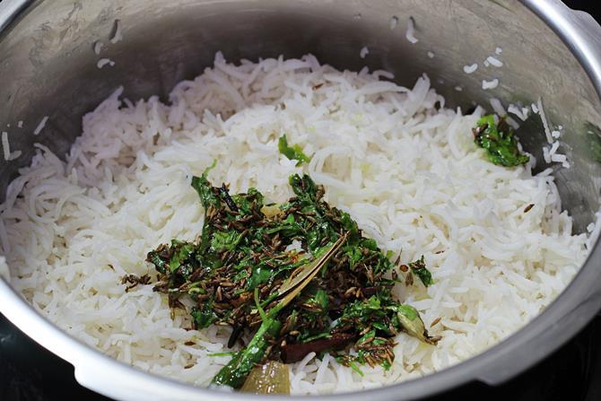 restaurant style jeera rice recipe 07