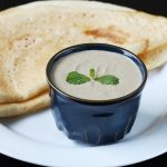 peanut onion chutney recipe for idli, dosa, uthappam