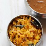 steamed cabbage curry | spicy steamed cabbage recipe