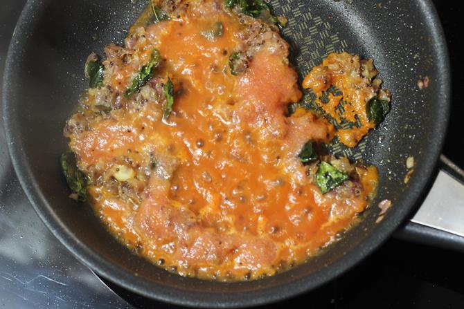tomatoes for egg gravy
