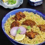 chicken fry biryani recipe | andhra style kodi vepudu biryani