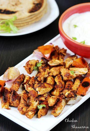 Chicken Shawarma Recipe | How to make Shawarma at home