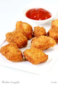 Chicken nuggets recipe | How to make chicken nuggets recipe at home