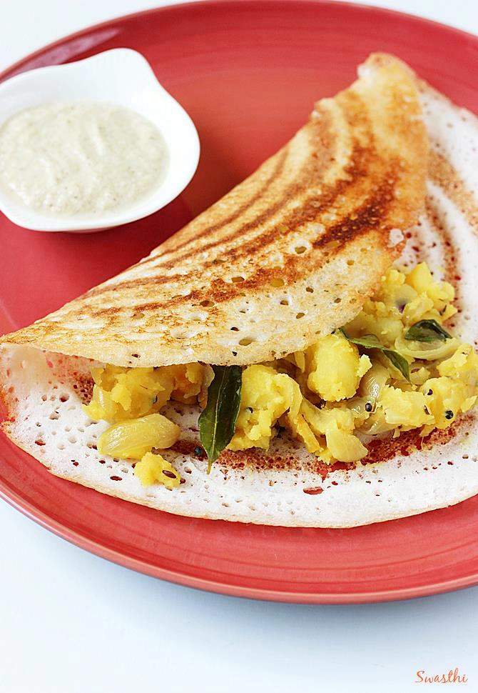 crispy plain dosa recipe