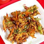 vegetable pakora recipe   how to make pakora or pakoda