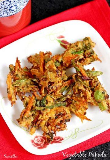 Vegetable pakora recipe | How to make pakora or pakoda