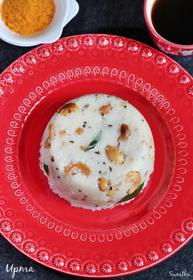 Upma recipe video how to make upma using rava sooji upma recipe upma recipe forumfinder Gallery