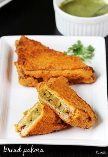 Bread pakora recipe | How to make bread pakoda | Bread snacks recipes