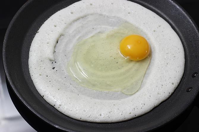 addition of egg