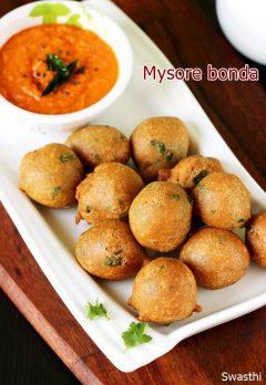 Mysore bonda recipe | How to make mysore bonda