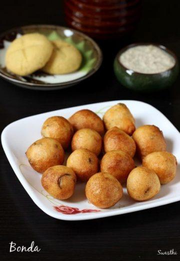 Mysore bonda recipe   how to make bonda   ulundu bonda