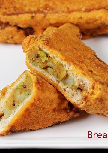 Bread pakora recipe   How to make bread pakoda   Bread snacks recipes