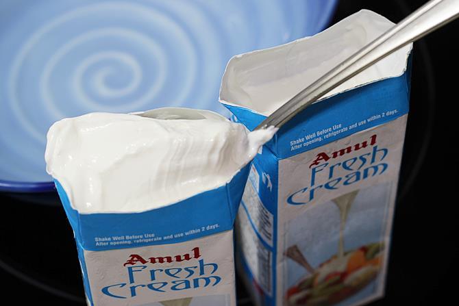 amul freshcream for eggless ice cream recipe