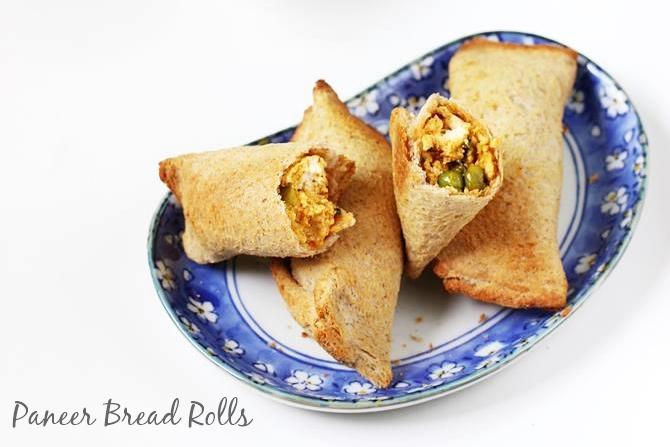 paneer bread roll recipes