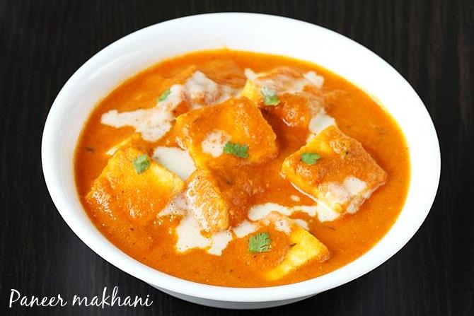 paneer makhani recipes