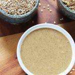 Tahini recipe   How to make tahini (Sesame paste)