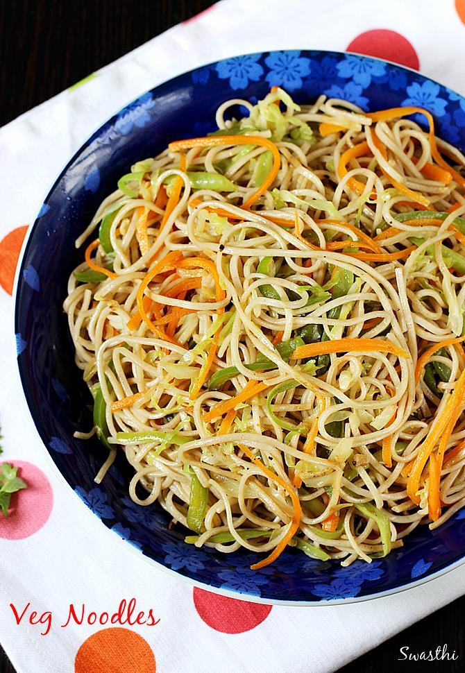 veg noodles recipe