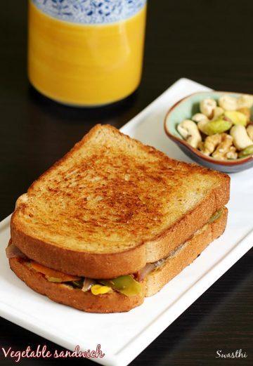 Veg sandwich recipes | 14 simple easy vegetable sandwich recipes