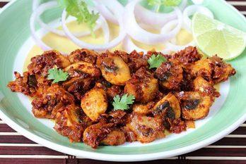 Garlic mushroom recipe in 15 mins | Spicy hot garlic mushrooms recipe