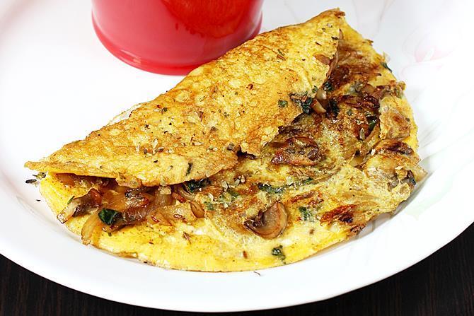 mushroom omelet recipe