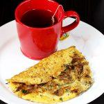 Mushroom omelette recipe | How to make mushroom omelet