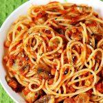 Pasta recipe with mushrooms | Easy tomato mushroom spaghetti recipe