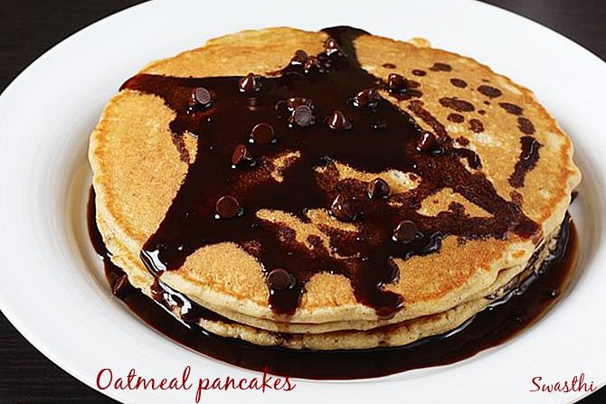oatmeal pancakes breakfast