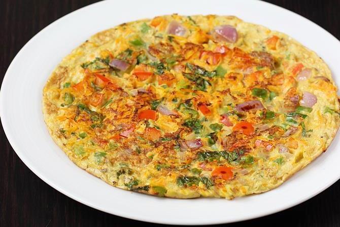 oats omelette breakfast