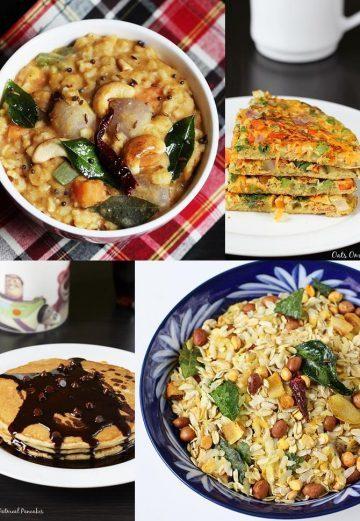 Oats Recipes | 30 Oatmeal recipes | Healthy Easy Oats recipes