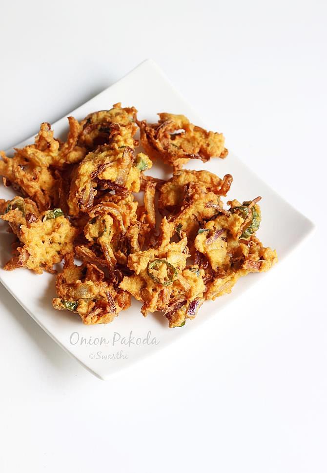 onion pakoda swasthis recipes
