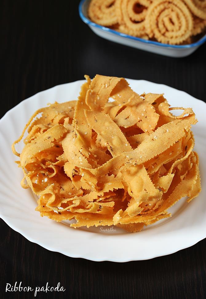 ribbon pakoda swasthis recipes