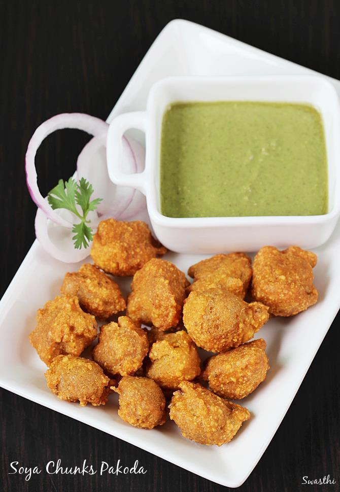 soya pakora swasthis recipes