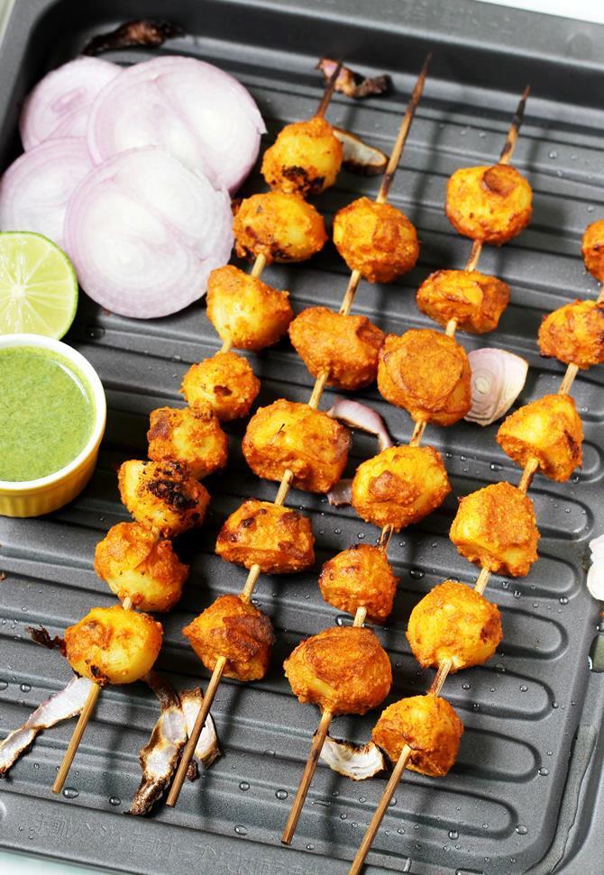 tandoori aloo tikka recipe